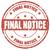 final notice   stamp stock photo © carmen2011