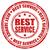 best service stamp stock photo © carmen2011