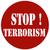 stoppen · terrorisme · gedetailleerd · illustratie · Rood · teken - stockfoto © carmen2011