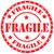 fragile · Grunge · Stempel · Vektor · Büro · Kunden - stock foto © carmen2011