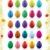 twenty-five colorful vector eggs stock photo © CarpathianPrince