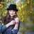 Beautiful girl in a hat stock photo © castenoid