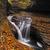 güzel · çağlayan · çağlayan · düşmek · yeşillik · ağaç - stok fotoğraf © Catuncia