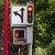 Geel · voetganger · auto · witte - stockfoto © cboswell