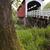 currin covered bridge row river valley vintage road transportati stock photo © cboswell