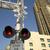 railroad crossing stock photo © cboswell
