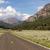 ワイオミング州 · 道路 · 車 · 丘 · 空っぽ - ストックフォト © cboswell