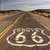 rural route 66 two lane historic highway cracked asphalt stock photo © cboswell