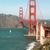 San · Francisco · Golden · Gate · Bridge · crépuscule · nord · Californie · bleu - photo stock © cboswell