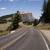 vazio · rural · estrada · pradaria · nublado · céu - foto stock © cboswell