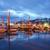 парусного · лодках · порт · пирс · ночь - Сток-фото © cboswell
