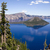 ilha · cratera · lago · parque · azul · Oregon - foto stock © cboswell