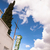 モーテル · にログイン · 青空 · 旅行 · 赤 - ストックフォト © cboswell