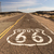 the historic route 66 road still survives in the southwest stock photo © cboswell