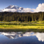 saturated color at reflection lake mt rainier national park stock photo © cboswell