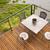 patio · playa · vista · blanco · muebles - foto stock © cboswell