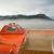 oranje · redding · boot · strand · water · veiligheid - stockfoto © cboswell