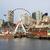 Seattle · groot · wiel · teken - stockfoto © cboswell