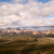 puffy clouds blue sky alaska range denali national park stock photo © cboswell