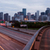 centro · da · cidade · Houston · Texas · noite · bastante · urbano - foto stock © cboswell