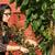 nő · kert · gyümölcsfa · kint · munka · gyönyörű - stock fotó © cboswell