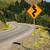 дороги · дорожный · знак · парка · США · солнце · улице - Сток-фото © cboswell