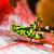 グラスホッパー · マクロ · 赤 · 葉 · 夏 · ジャンプ - ストックフォト © chatchai