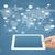 táblagép · globális · üzlet · internet · kapcsolat · hálózat - stock fotó © cherezoff