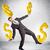 finansowych · równowagi · złota · znak · dolara · stabilny · równowaga - zdjęcia stock © cherezoff