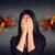 плачу · женщину · красный · молодые · деловой · женщины - Сток-фото © cherezoff