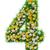 cztery · zielone · eco · tekst · biały - zdjęcia stock © cherezoff