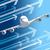 роскошный · самолета · изолированный · белый · плоскости · Jet - Сток-фото © cherezoff