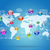 earth map and application icons stock photo © cherezoff