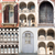 kleurrijk · deuren · rij · strand · deur · groene - stockfoto © cherezoff