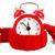 alarm clock wearing red scarf stock photo © cherezoff