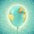 ballon · enveloppe · ballon · à · air · chaud · écran · texture · fête - photo stock © cherezoff
