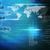 arayüz · dünya · haritası · mavi · iş · arka · plan · başarı - stok fotoğraf © cherezoff