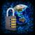Binärcode · Erde · Kombinationsschloss · abstrakten · Elemente · Bild - stock foto © cherezoff