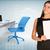 biuro · tabeli · laptop · czarny · papieru · arkusza - zdjęcia stock © cherezoff