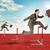 businessmen hopping over treadmill barrier stock photo © cherezoff
