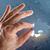 отсутствующий · кусок · свет · свечение · окончательный - Сток-фото © cherezoff