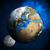 earth planet and moon stock photo © cherezoff
