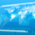 wereldkaart · abstract · Blauw · wereld · aantal - stockfoto © cherezoff