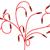 kırmızı · ağ · kablo · gölge · beyaz · sığ - stok fotoğraf © cherezoff