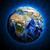 asia · zielone · planety · pokryty · trawy · odizolowany - zdjęcia stock © cherezoff