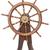velho · volante · isolado · branco · roda · navegação - foto stock © cherezoff