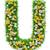 手紙 · 緑の草 · 花 · 孤立した · 白 · フォント - ストックフォト © cherezoff