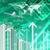 avião · arranha-céus · crescimento · negócio · dinheiro - foto stock © cherezoff