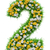 number 2 of green grass and flowers stock photo © cherezoff
