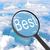 увеличительное · стекло · глядя · лучший · облака · бизнеса · свет - Сток-фото © cherezoff